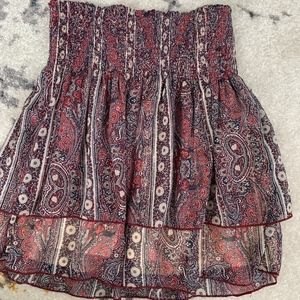 Abercrombie & Fitch Print Skirt